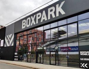 Boxpark, Wembley Side Entrance