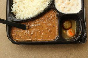 Dal Chawal vegetarian dish